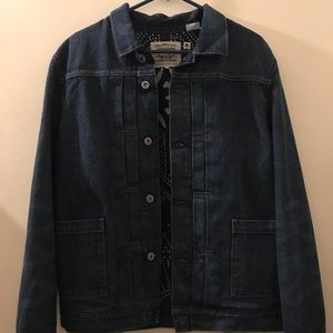 Levi's made and crafted japanese denim jacket